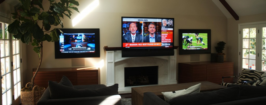 Versatile Multi-display TV Entertainment Systems